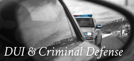 DUI / Criminal Defense